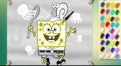 Spongebob Mit Jelly Fish