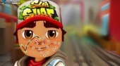 Subway Surfers Face Tattoo