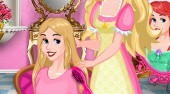 Barbie's Princess Hair Salon