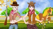 Frozen Sisters Cowgirl Fashion