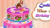 Cooking Winx Club Birthday Cake