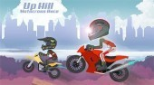Play Free Up Hill Motocross Race Game