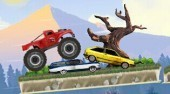 Play Free Monster Truck Flip Jumps Game