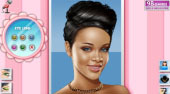 Black Beauty Rihanna Makeup