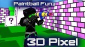 Paintball Fun 3D Pixel