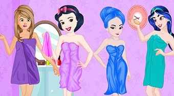 Princesses Colorful Bathroom Design