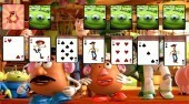 Play Solitaire Toy Story game online